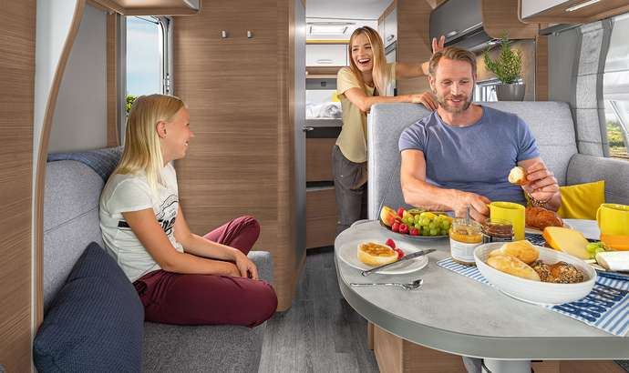 KNAUS L!VE WAVE 2020-2021 - Teilintegriertes Reisemobil - Highlights Interieur