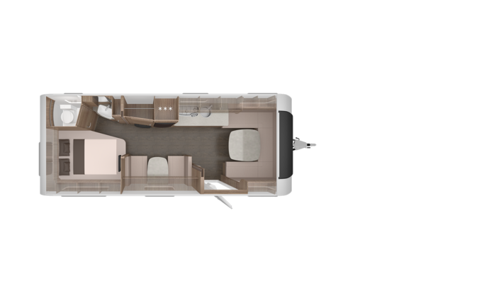 Caravan SPORT SILVER SELECTION 650 UDF - Grundriss Overview