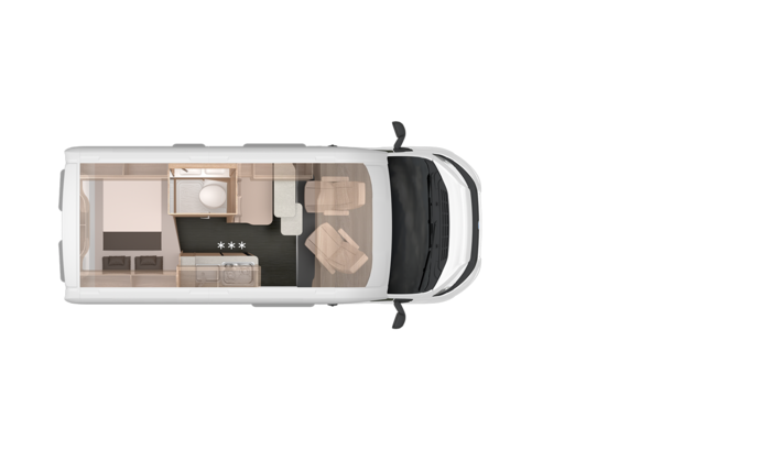 Grundriss Overview KNAUS CUV BOXSTAR 540 ROAD