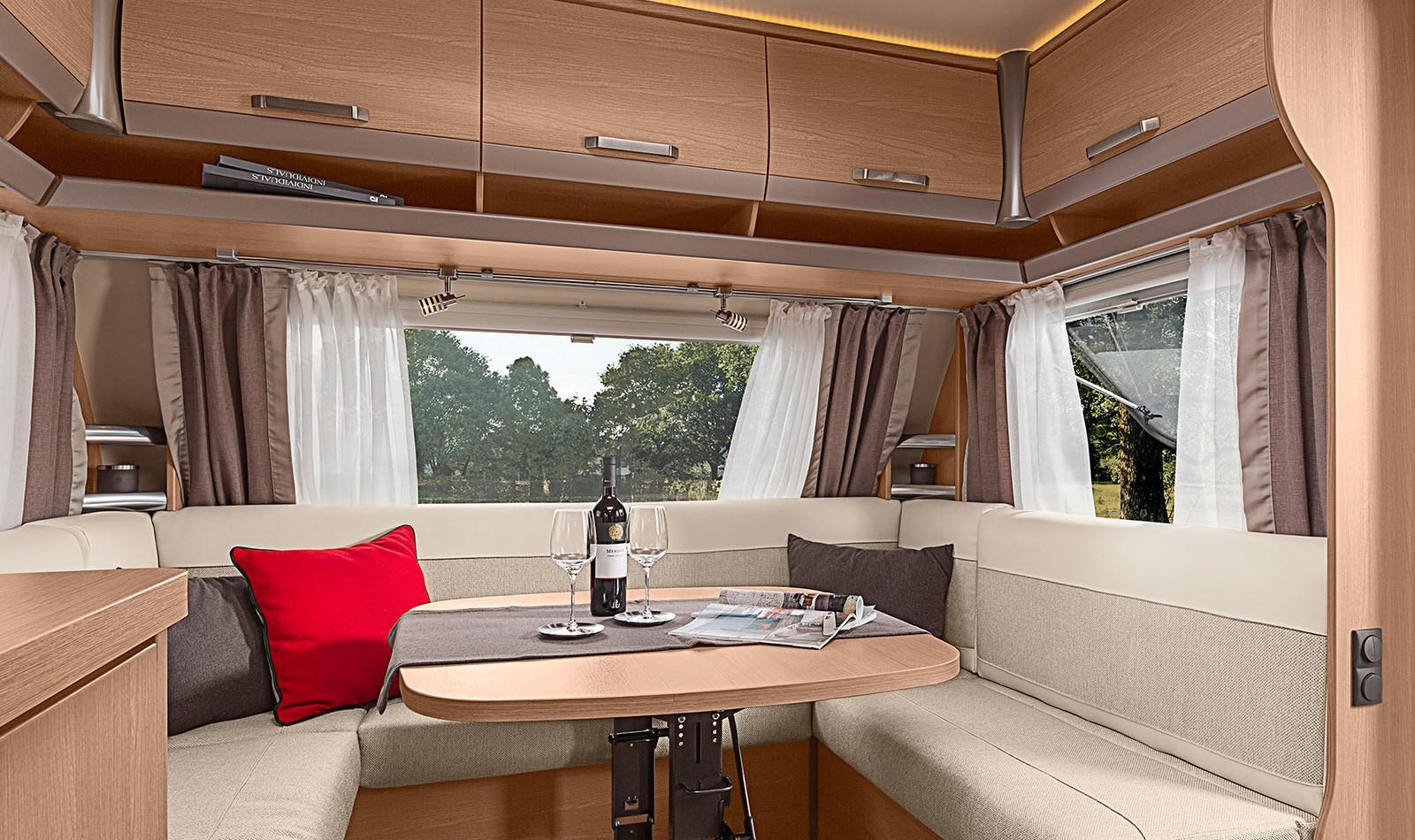 KNAUS SPORT Interieur   Der Allzweck-Caravan von innen