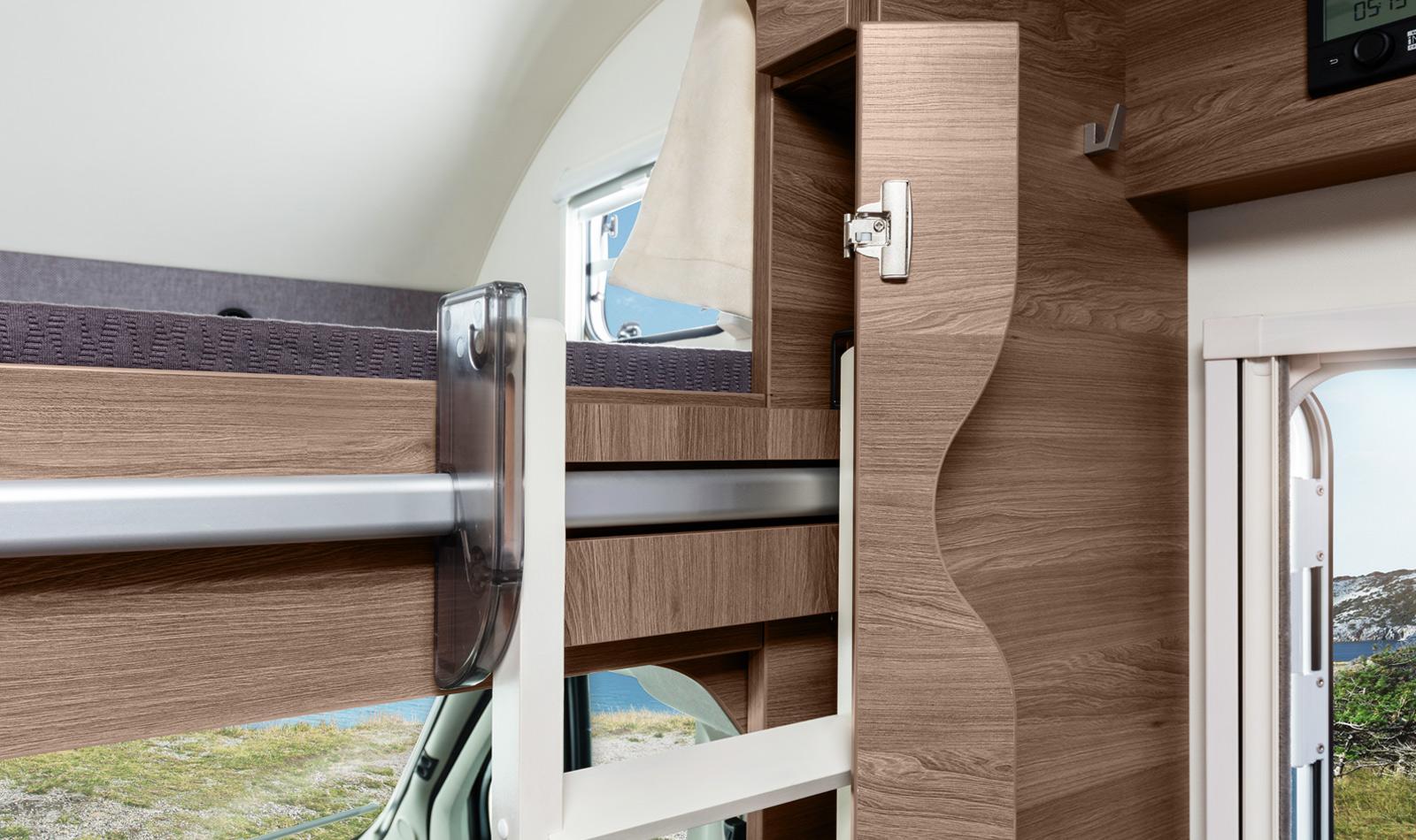 L!ve traveller interieur viel platz und hoher komfort