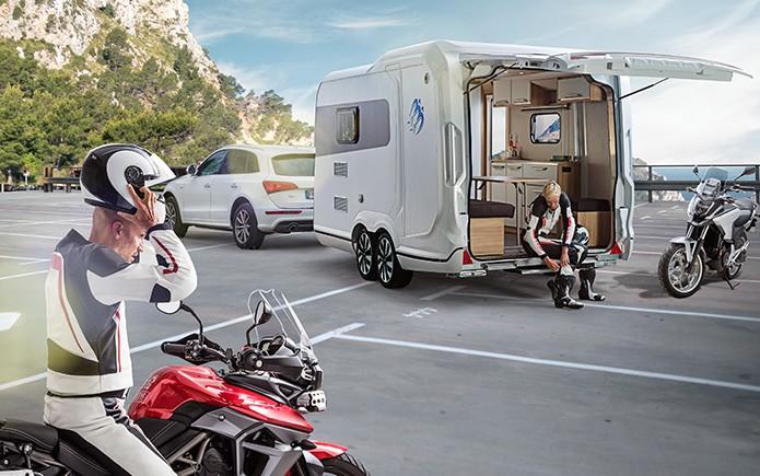 Etagenbett Nachrüsten Wohnwagen : Knaus deseo der vielseitige transport caravan