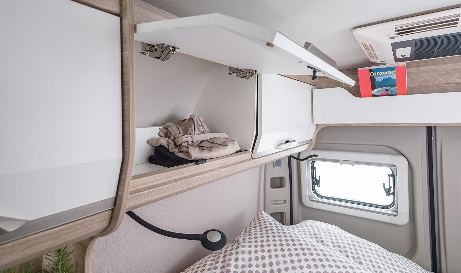 Interieur | Der Kastenwagen BOXSTAR 540 von innen